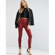 ASOS エイソス High Waist Pants In Skinny スキニー Fit