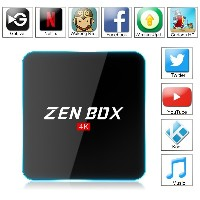 Zenoplige ZEN BOX Z2 4K アンドロイドTVボックス Fully Loaded Android 6.0 Amlogic S912 Cortex-A53 64bits KODI...