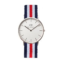 (ダニエル ウェリントン) Daniel Wellington 腕時計 [シルバー] CLASSIC CANTERBURY WRIST WATCH QUARTZ JAPAN CITIZEN NATO...