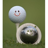 Tin Cup Groovy Golf Ball Marking Stencil, Steel [並行輸入品]