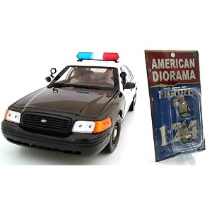 "AMERICAN DIORAMA 1:24scale FIGURE ""Seated Sheriff (Set of 2 figures)"" アメリカンジオラマ 1:24スケール フィギュア ..."