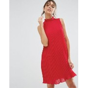ASOS エイソス Sleeveless High Neck Pleated Swing Dress ドレス ワンピース