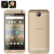 VKworld VK800X Android Smartphone - Android 5.1, Quad Core CPU, 5 Inch Display, Smart Wake, Dual...