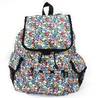 LeSportsac レスポートサック SNOOPY スヌーピー Peanuts x LeSportsac コラボ VOYAGER BACKPACK バックパック リュック 7839 P712...