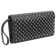 (クリスチャンルブタン)Christian Louboutin 長財布 Macaron Continental Wallet With Flap 1165076-B078 BLACK×GUN...