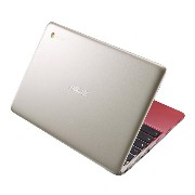 ASUS C201 11.6 Inch Chromebookゴールド&レッド(Rockchip, 4GB, 16GB SSD, Gold/Red) [並行輸入品]