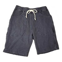 (グッドオン) GOOD ON MENS 9oz SWEAT SHORTS[PIGMENT NAVY]M