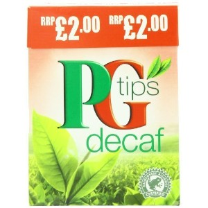 PG Tips Pyramid Tea Bag Decaf, 80 Count Tea Bag by PG Tips [並行輸入品]