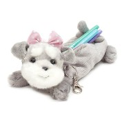 Bestever ベストエバー Pencil Case Schnauzer Baby Pink rbn