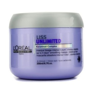 [LOreal] Professionnel Expert Serie - Liss Unlimited Smoothing Masque (For Rebellious Hair) 200ml/6...