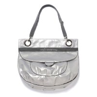 magic stroller bag Glam Silver besace ラウンドシルバー