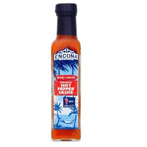 Encona West Indian Hot Pepper Sauce Original 142ml (エンコナ ウエストインディアン 激辛ホットペッパーソース オリジナル 142ml)【海外直送品...