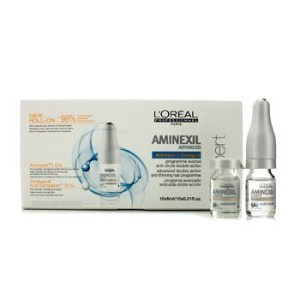 [LOreal] Professionnel Expert Serie - Aminexil Advanced Anti-Thinning Hair Programme 10x6ml/0.21oz...
