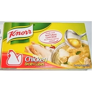 Knorr Chicken Broth Cubes クノール チキン キューブ 60g