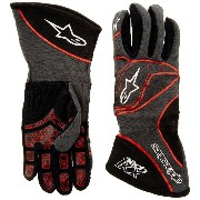 alpinestars(アルパインスターズ) TECH 1-KX GLOVES ANTHRACITE/BLACK/RED L 3551815-1431-L