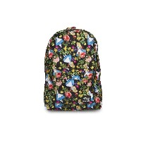 Alice In Wonderland Floral Backpack