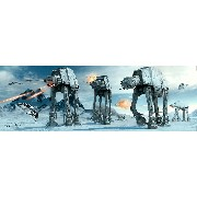Poster Star Wars AT-AT Fight Poster long (158cm x 53cm)