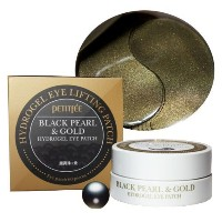 *Petitfee* Blackpearl&gold Hydrogel Eyepatch. Eye Patch60ea