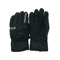 SALOMON KT2 SNOW GLOVE Lサイズ BLACK