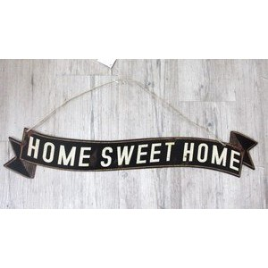 SHABBY TIN PLATE HOME SWEET HOME ティンプレート/DRDR6110 /ティン・カントリー雑貨・ガーデニング・看板