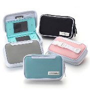 [NINTENDO DS LITE 専用] COMPACT POUCH DS LITE ニンテンドーコンパクト・ポーチ (シルバー)