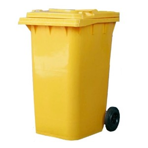 【DULTON】ダルトン Plastic trash can 240L(YELLOW)