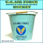 【US AIR FORCE BUCKET】 バケツ