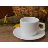 BONOX OPAL GLASSWARE Coffee cup & saucer S415-144 カップ&ソーサー