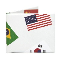 The Worlds Fair 二つ折り 紙財布 スリム Bifold Paper Wallet Slim The Walart Mighty Tyvek Dynomighty