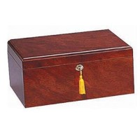 Quality Importers Milano 75-100 Cigar Humidor, Rosewood by Quality Importers [並行輸入品]