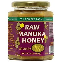 YS Eco Bee Farms Raw Manuka Honey Hi-Active 15 Plus - 12 oz 海外直送