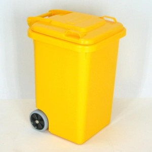 PLASTIC TRASH CAN 45L(イエロー) 100-146