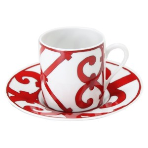 Hermes エルメス ガダルキヴィール Coffee cup and saucer コーヒーカップ&ソーサー 100ml 011017P 2個セット