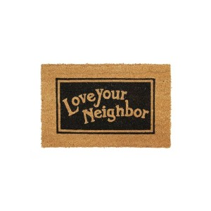 Lowis Industry コイヤードアマット【LI-08 Love your neighbor】