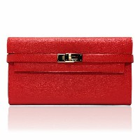 HERMES エルメス KELLY ケリー 長財布 ROUGE TOMATE 赤 レッド H051303CP S5