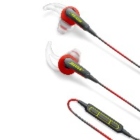 Bose SoundSport in-ear headphones - Apple devices : イヤホン 防滴/Apple製品対応リモコン・マイク付き パワーレッド SoundSport...