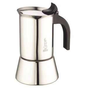 Bialetti Venus - Stove Top Espresso Coffee Maker - Induction Compatible - Stainless Steel with...