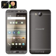 VKworld VK800X Android Smartphone - 5 Inch IPS Display, Android 5.1, Quad Core CPU, Smart Wake,...