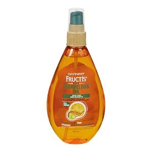 Garnier Skin and Hair Care Fructis Marvelous Oil Frizz Defy 5 Action Hair Elixir for Unruly Hair, 5...