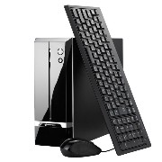 mouse デスクトップパソコン LM-C392D12SX-ZB/Win10/Celeron/4GB(DDR4)/HDD1TB/SSD240GB