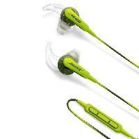 Bose SoundSport in-ear headphones - Apple devices : イヤホン 防滴/Apple製品対応リモコン・マイク付き エナジーグリーン SoundSport...