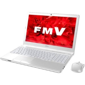 【Kingsoft Office 付き】 富士通 FMV ノートパソコン FMVA30WW2 DVD-RW 1366*768 15.6 AMD E1-7010 Win10-Home 64 320GB...