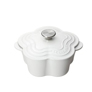(Le Creuset)ル・クルーゼ ココットフルール コットン/cotton 限定商品