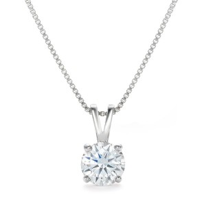 [Gift from New York] 一粒 1.25ct クリア ネックレス NY限定 デザイナーズ ネックレス クリア ネックレス