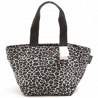 (エルベシャプリエ)Herve Chapelier 1028F/MEDIUM TOTE/SQUARE BASE/INSIDE POCKET ミディアムトートバッグ/PANTHER WHITE...