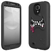 SwitchEasy GALAXY S4 SC-04E用シリコンケース MONSTERS for Samsung GALAXY S4 Ticky ブラック SW-MONG4-BK-JP