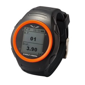 アサヒゴルフ EAGLE VISION watch for TREK EV-T100 ブラック