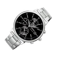 [セイコー]Seiko 腕時計 SNDW49 Chronograph Black Dial Stainless Steel Watch SNDW49P1 [逆輸入]