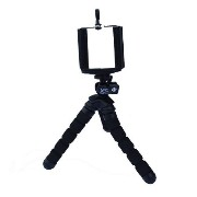 【Xsories】 MINI DELUXE TRIPOD WITH PHONE HOLDER /ブラック