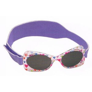 【UV100%カットの子供用サングラス】REAL KIDS SHADES PURPLE BUTTERFLY 2-5歳用 4692
